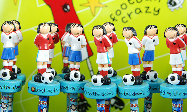 Back to School & Stationeries - Football Crazy pencils & toppers